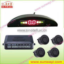 2013 Good feedback waterproof Parking Sensor Car System for deteting obstacles