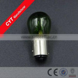 Car 21/5W 12V BA15D Halogen bulb Green Indicator lights Brake lamp tail Light