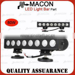 AURORA IP69K E-MARK high quality 80W offroad led light bar