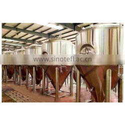Red copper stainless steel 500 liter beer brewing equipment fermenting system fermenter fermentor for bar