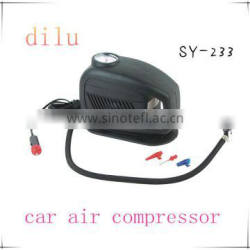 250/300 PSI mini car air compressor,DC 12v mini air compressor,25L/min tire inflator