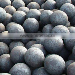 100mm forged grinding media steel ball for grinder