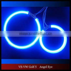 Golf CCFL LED angel eyes for Volkswagen Golf 5 CCFL halo rings headlihgt kits