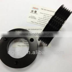 black anodized aluminum cnc motorcycle pulley