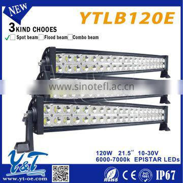 High-performance Offroad 20inch 120W 2 Rows 4x4 led light bar 12v/24v for off road heavy duty,marine