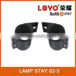 2015 Stainless steel pickup upper led bar light bracket