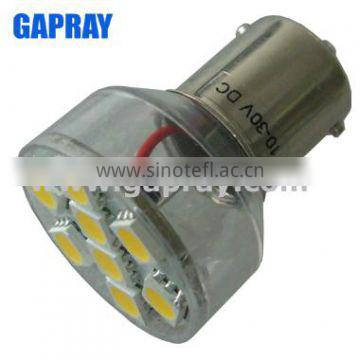 1.3W BA15S china factory blue led car interior light 12v ac