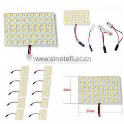 12V 48SMD Led Car Interior Panel Light Bulb
