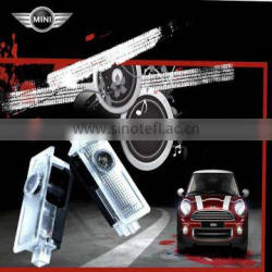12V Door light type ABS auto led door logo laser projector light for mini car