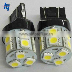 Car LED tail light bulb T20 7440 7443 13SMD, auto LED tail light T20 7440 7443 13SMD, LED tail light 13SMD T20 base