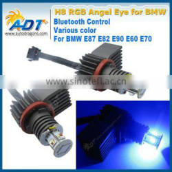 Colorful bluetooth RGB led marker angel eyes for bmw E92 20W