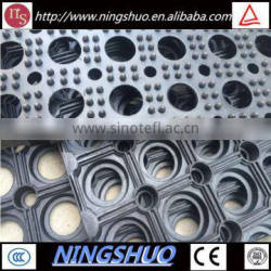 China industry of ourdoor durable anti slip anti fatigue rubber deck mat