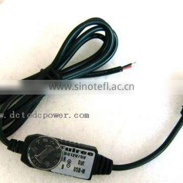 12v to 5v, 12v to 5V USB power converter, 8-22v variable dc converter 5v output for vechile tachograph 3m MI a1