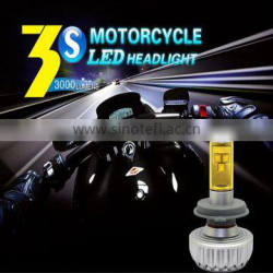 Latest super waterproof led auto light 12v h7 led headlight factory direct