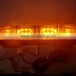 Police LED warning light bar , Auto MiNi LED light bar , LED emergency light bar(SR-MIB-119B), 1W Highpower LED. W Bolt