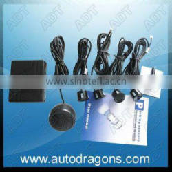 Mini black car visible parking guidance system ultrasonic parking sensor