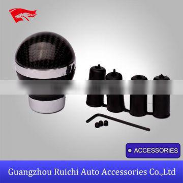 Personalized JDM Style Ball Carbon Fiber Universal Gear Shift Knobs for Sell