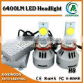 6400LM CANBUS H8 CREE LED headlight