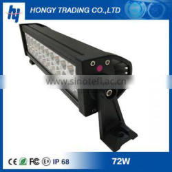 72w auto cars led driving work light bar 36w 72w 120w 180w 240w 288w Double row led light bar off road trucks
