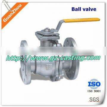 3 inch stainless steel ball valve OEM casting products from alibaba website China manufacturer with material steel aluminum iron