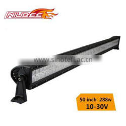 288w double row cree off road led light bar 50inch