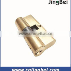 60mm double brass european door lock cylinder