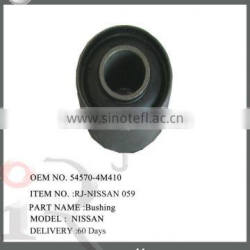 54570-4M410 rubber mounting bush use for NISSAN spare parts