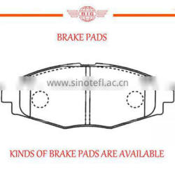 AKB systemized genuine front axle brake pad for DAEWOO series car
