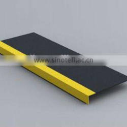 durable rubber or pvc stair tread