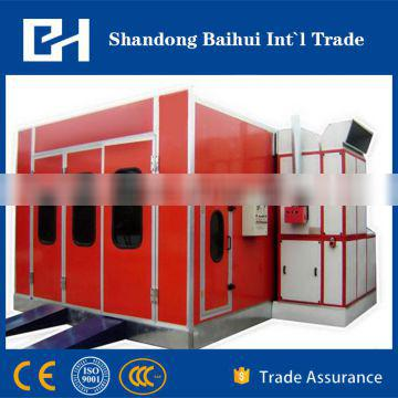 auto spray booth with high-quality and design for car baking with powder coating