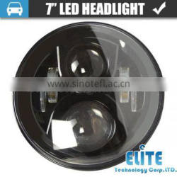 """New design 50w 4800LM 7"""" led headlamp for harley on hot sell"""