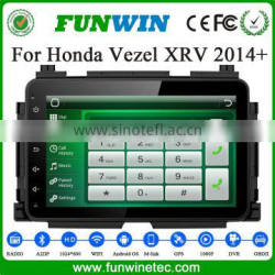 "Funwin 2 din 8"" Android 4.4 multimedia system Car DVD Player for Honda Vezel HRV XRV 2014 2015 with Radio GPS navigation"