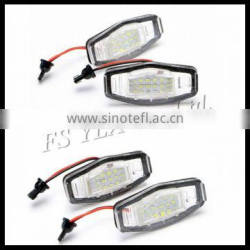 auto lamp led license plate lamp white led license plate light for honda civic