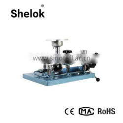 Hand hold pump Dead Weight Tester Hydraulic Pressure Calibrator