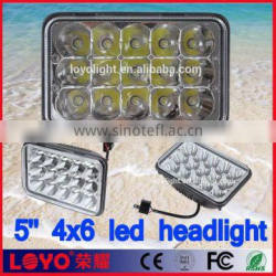 45w led 5x7 7 inch 45w auto led working light ul for jeep,truck,Fork lift, trains, boat, bus