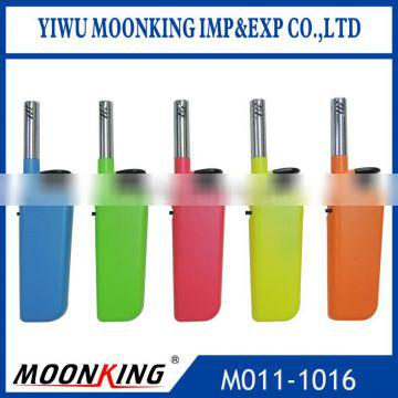hot sale ISO22702 electronic kitchen bbq lighter butane refill candle lighter