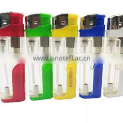 Hot sale of plastic LED lighter