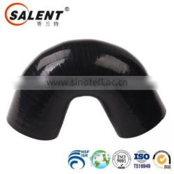 standard 25mm reinforced automotive Black 135 degree silicone elbow hose rubber hose