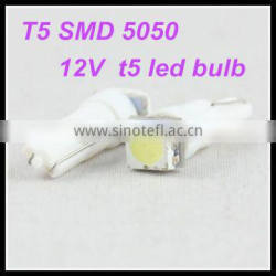 wholesale 12v w5w/194 5050 smd led bulb t5 led interior lamp