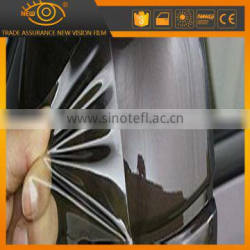 Unchanged yellow self-adhesive TPU car body protective film warp sticker