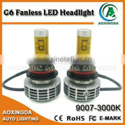 G6 G7 G8 9004 9007 6000LM super bright CANBUS LED headlight kit