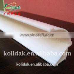White TPE PVC photo frame profile extrusion