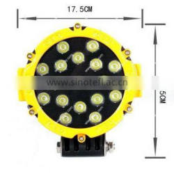 Super bright 51W LED Work Lights for Off road, ATV, SUV, 4x4 LED Driving Light
