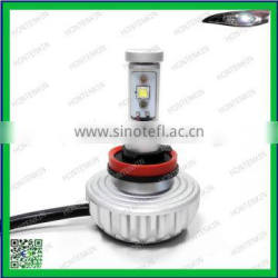 Easy install 3S H8 3000lm LED motorcycle bullet headlight bulb