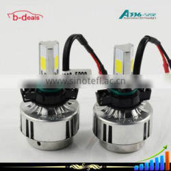 B-deals 3 sides COB 280 degrees 3000K 6500K universal automatic headlights kit A336 5202