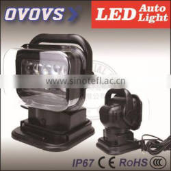 7'' auto led search light for cars outdoor working