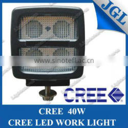 40W High power CREE LED Work Lights 4 leds cree 10w T6 led truck work light