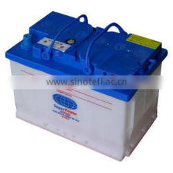 DIN62 dry charged car battery for European car