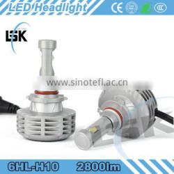 Strong heat dissipation 2800LM fog lamp led headlight with 2 warranty