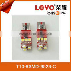 New Non-polarity 80LM 2.5W T10 car led light